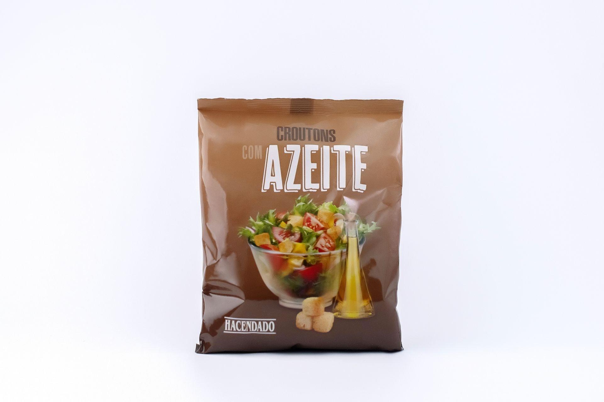 croutons azeite